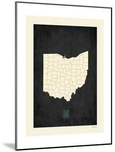 Black Map Ohio by Kindred Sol Collective