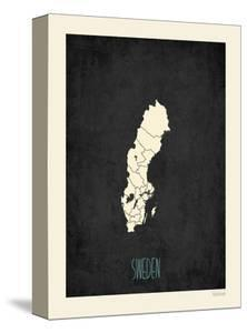 Black Map Sweden by Kindred Sol Collective