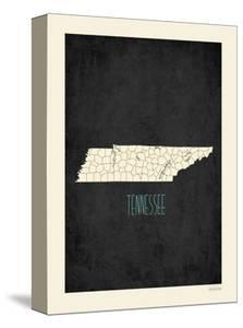 Black Map Tennessee by Kindred Sol Collective
