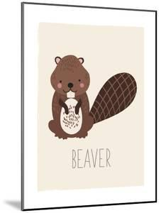 Forest Friends Beaver by Kindred Sol Collective