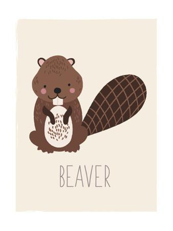 Forest Friends Beaver