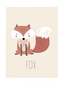 Forest Friends Fox by Kindred Sol Collective