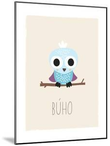 Forest Friends Owl (Spanish) by Kindred Sol Collective