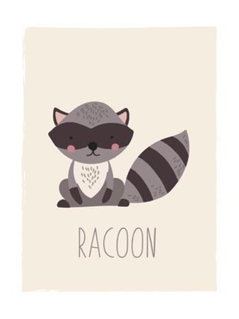 Forest Friends Raccoon