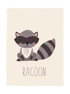 Forest Friends Raccoon by Kindred Sol Collective