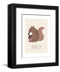 Forest Friends Squirrel (Spanish) by Kindred Sol Collective