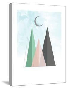 Moon Art Print 1 by Kindred Sol Collective