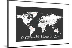 Not All Those Who Wander are Lost in Black by Kindred Sol Collective