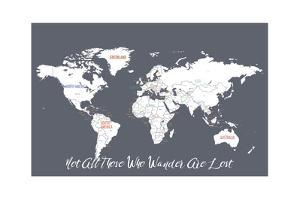 Not All Those Who Wander are Lost in Grey by Kindred Sol Collective