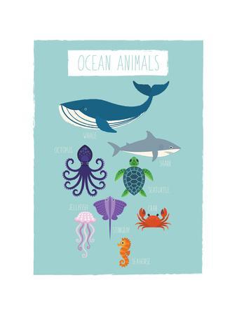 Ocean Animal Print