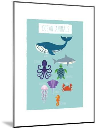 Ocean Animal Print by Kindred Sol Collective