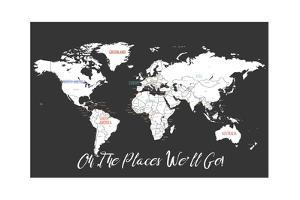 Oh the Places We'll Go in Black by Kindred Sol Collective
