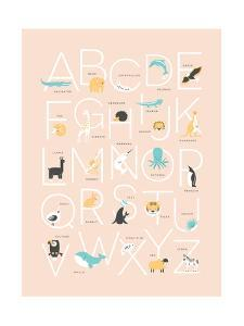 Pink Alphabet by Kindred Sol Collective