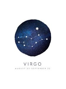 Virgo Zodiac Constellation by Kindred Sol Collective