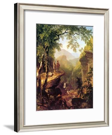 Kindred Spirits-Asher Brown Durand-Framed Art Print