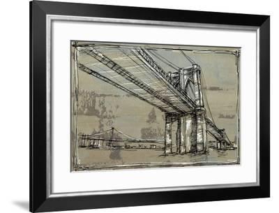 Kinetic City Sketch I-Ethan Harper-Framed Art Print