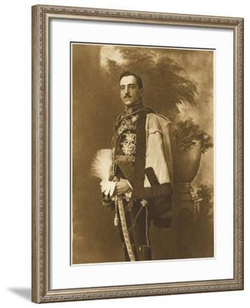 King Alexander of Yugoslavia (1900-1934). Ruler of Yugoslavia; Crown Prince of Serbia--Framed Photographic Print