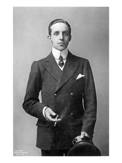 King Alfonso Xiii of Spain, C.1910--Giclee Print