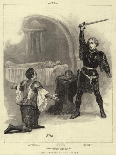 King Arthur at the Lyceum-Henry Marriott Paget-Giclee Print