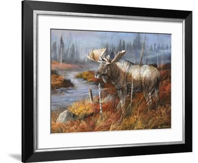 King at Water's Edge-Trevor V. Swanson-Framed Giclee Print