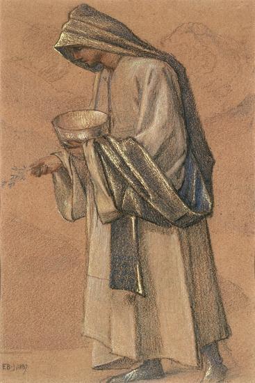King Balthazar, 1887-Edward Burne-Jones-Giclee Print