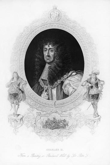 King Charles II, the Merry Monarch-Peter Lely-Giclee Print
