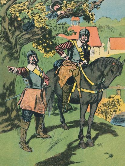'King Charles in the Oak', c1907-Unknown-Giclee Print