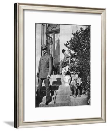 King Christian IX of Denmark (1818-190) and Prince Frederick (1868-194), 1904--Framed Giclee Print
