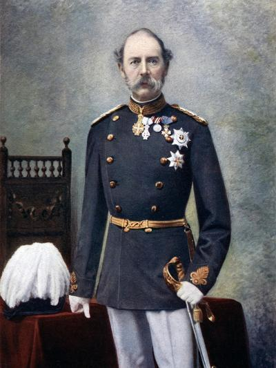 King Christian IX of Denmark, Late 19th-Early 20th Century--Giclee Print