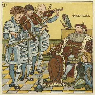 King Cole-Walter Crane-Giclee Print