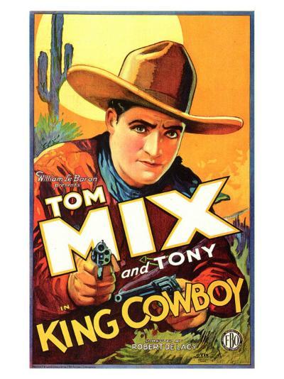 King Cowboy, 1928--Art Print
