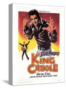 King Creole, French Movie Poster, 1958