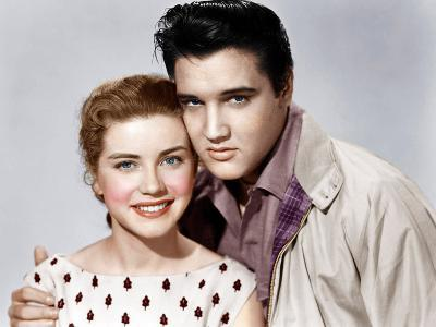 KING CREOLE, from left: Dolores Hart, Elvis Presley, 1958--Photo