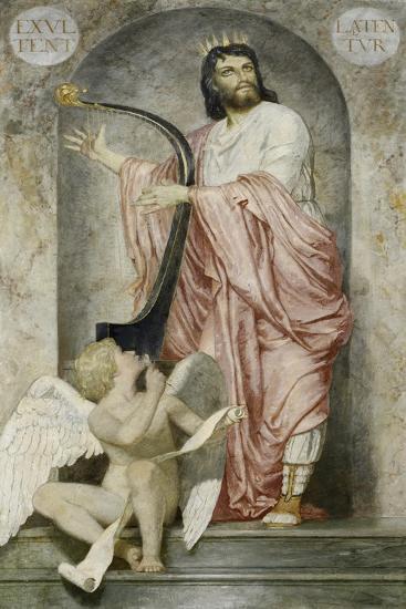 King David, 1868-Arnold B?cklin-Giclee Print
