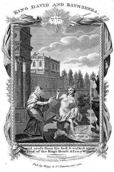 King David Looking Down at Bathsheba, C1804--Giclee Print