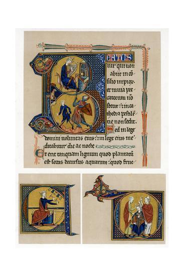 King David, Mid-13th Century--Giclee Print