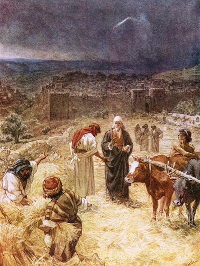 King David Purchasing the Threshing Floor-William Brassey Hole-Giclee Print