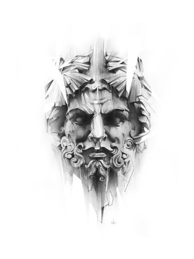 King Diamond-Alexis Marcou-Art Print