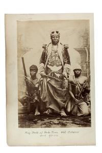King Duke of Duke Town, Old Calabar, West Africa, C.1890