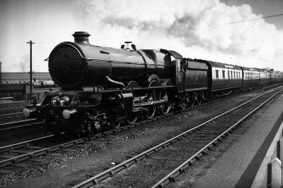King Edward Engine-J A Hampton-Photographic Print