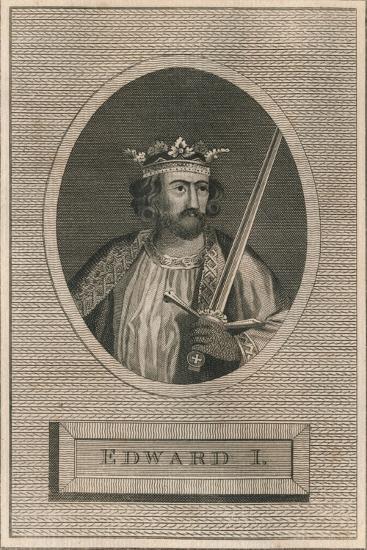 King Edward I, 1793-Unknown-Giclee Print