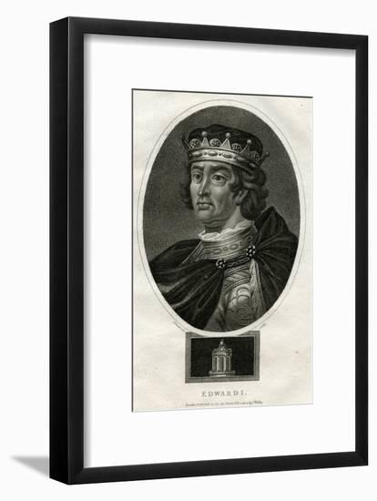 King Edward I of England-J Chapman-Framed Giclee Print