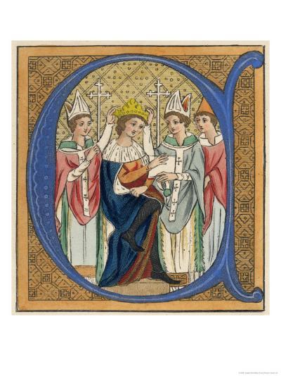 King Edward I-Joseph Strutt-Giclee Print