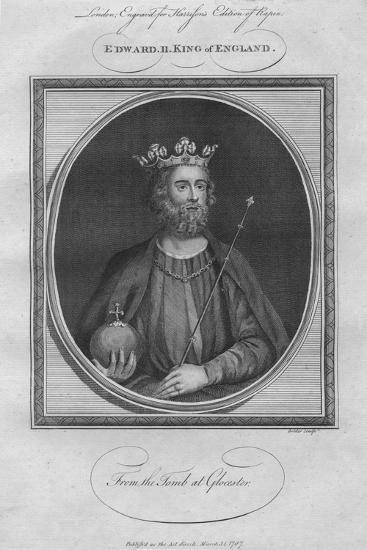 King Edward II, 1787--Giclee Print