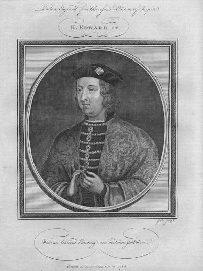 King Edward IV, 1785--Giclee Print