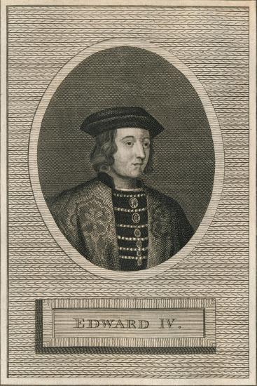 King Edward IV, 1793-Unknown-Giclee Print
