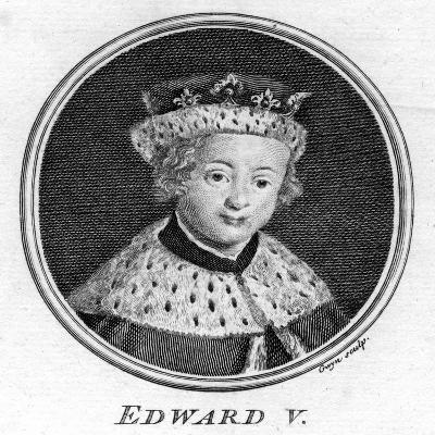 King Edward V of England, (1470-148)- Gwyn-Giclee Print
