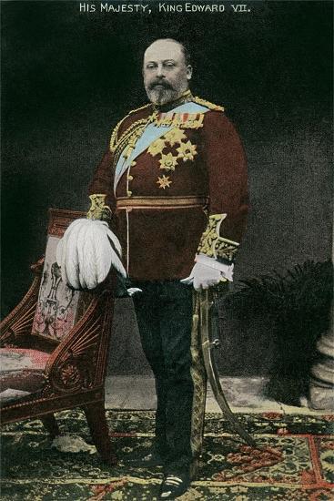 King Edward VII of England--Art Print