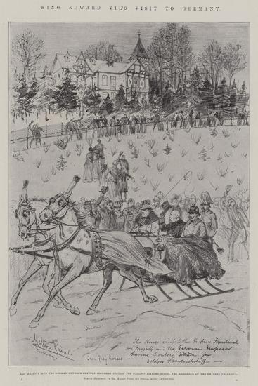 King Edward VII's Visit to Germany-Melton Prior-Giclee Print