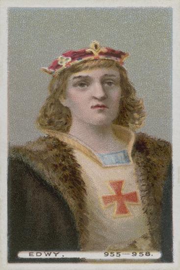 King Edwy--Giclee Print